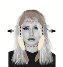 פנים בצורת יהלום/מוארכים/מלבניים